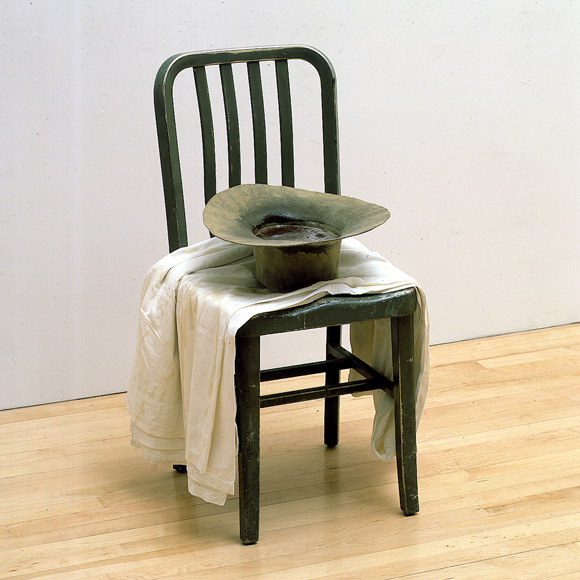 Ann Hamilton (privation and excesses - chair)